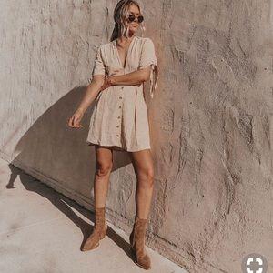 Faithfull the brand Rossi Print Dress